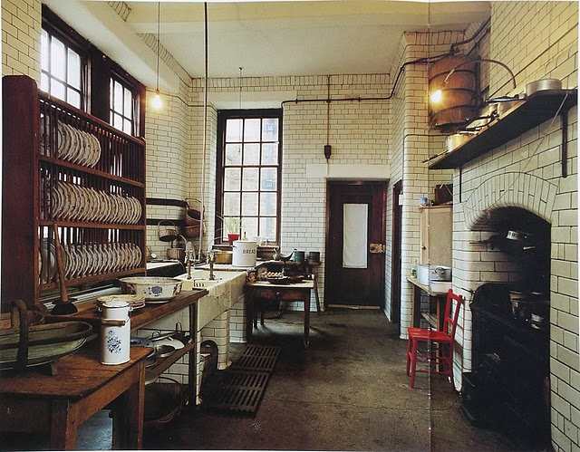 victorian townhouse kitchen