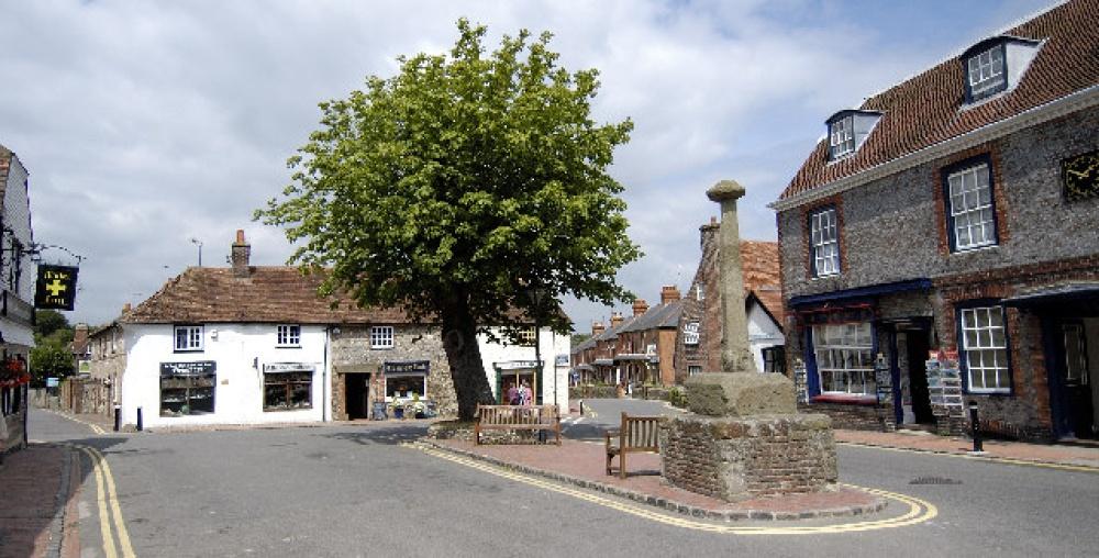 alfriston village church doors