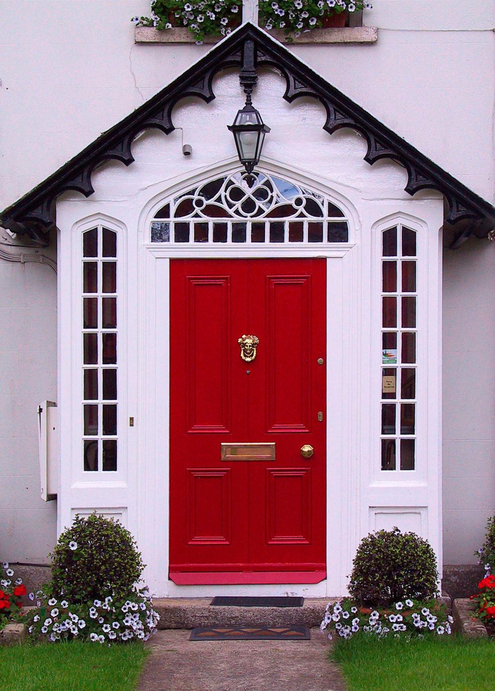 Changing front door