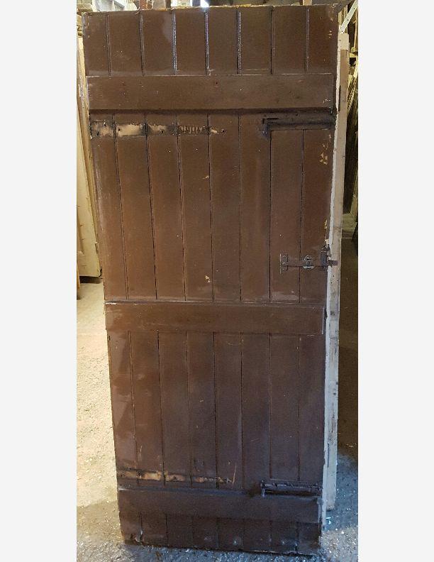 572 - Period Ledged Cottage Door