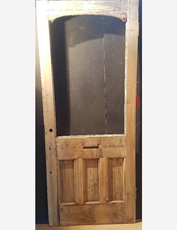 2002 - Edwardian front or vestibule half glazed door