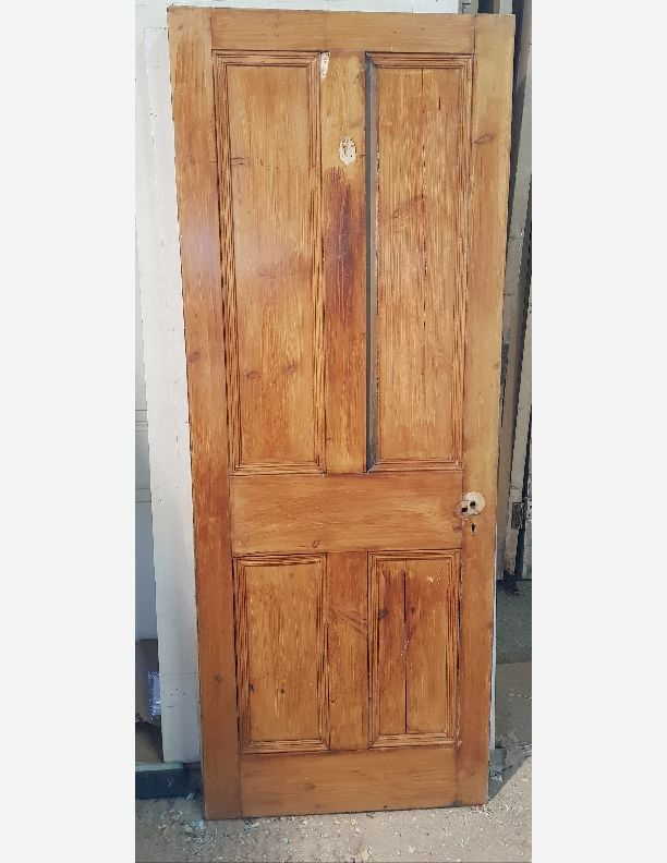 2040 - Victorian 4 panel door with beading both sides