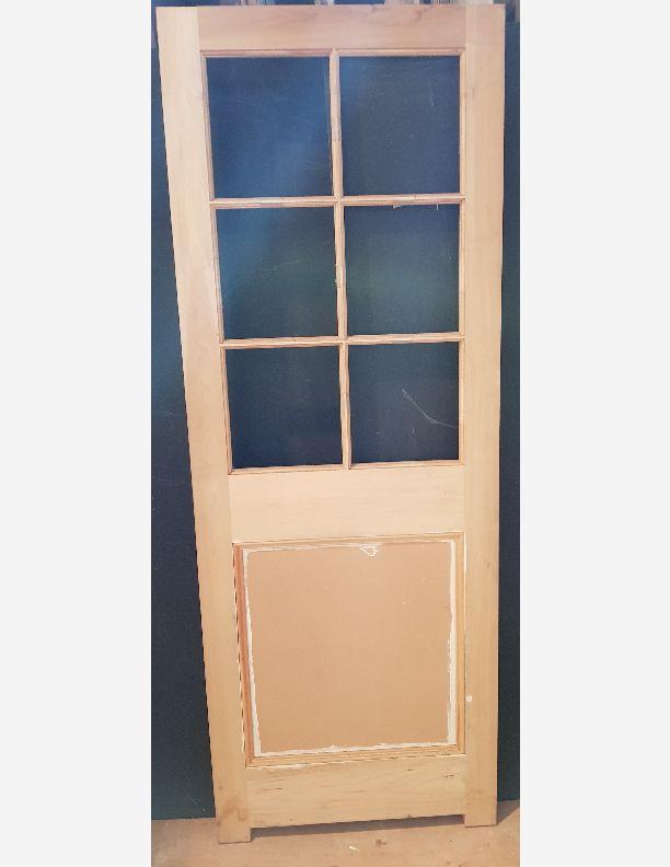 2090 - New Edwardian style internal  part-glazed door