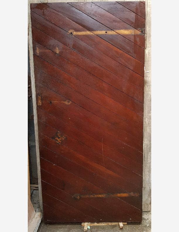 2131 - Old Oak studded Medieval Jacobean style door