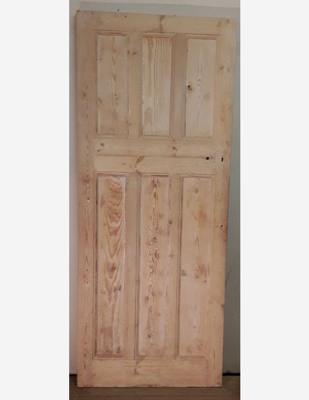2380 - 3 over 3 pine panel door