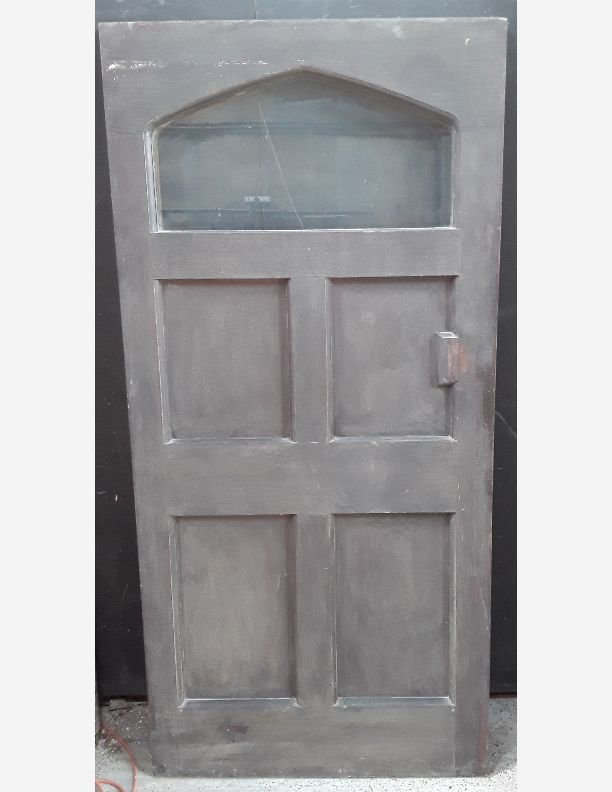 2432 - Oak vestibule, castle or church door