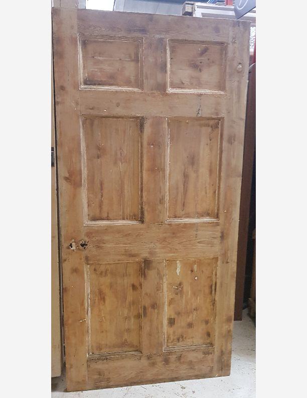 2798 - Very substantial Georgian 6 panel period door