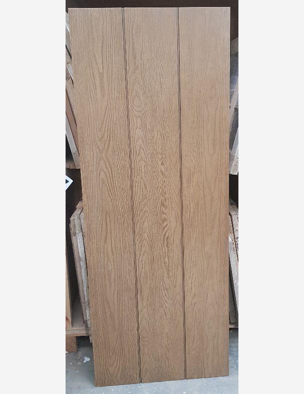 2803 - New Vintage Hickory plank door solid core laminate door