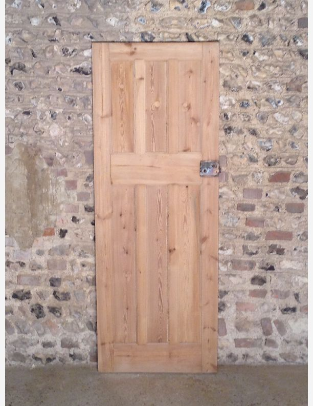 313 - 1920s 3 over 3 panel interior door