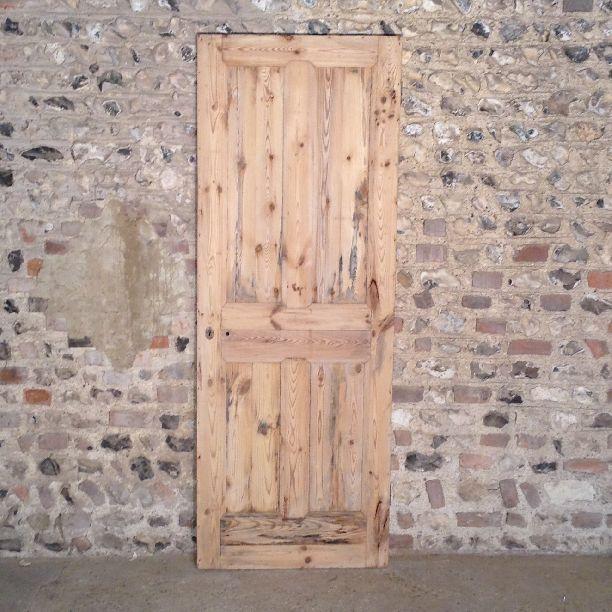 361 - Victorian 4 panel Internal Door