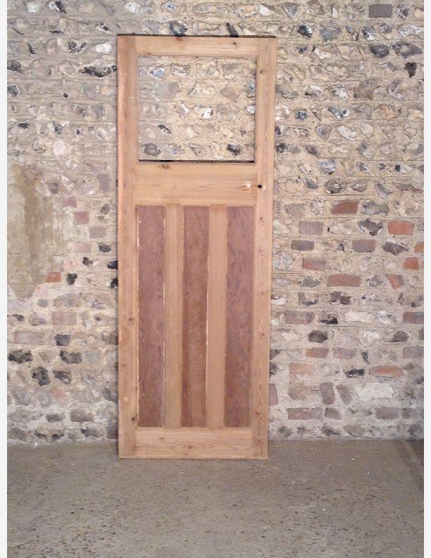 382 - Part Glazed 1930s Interior Door