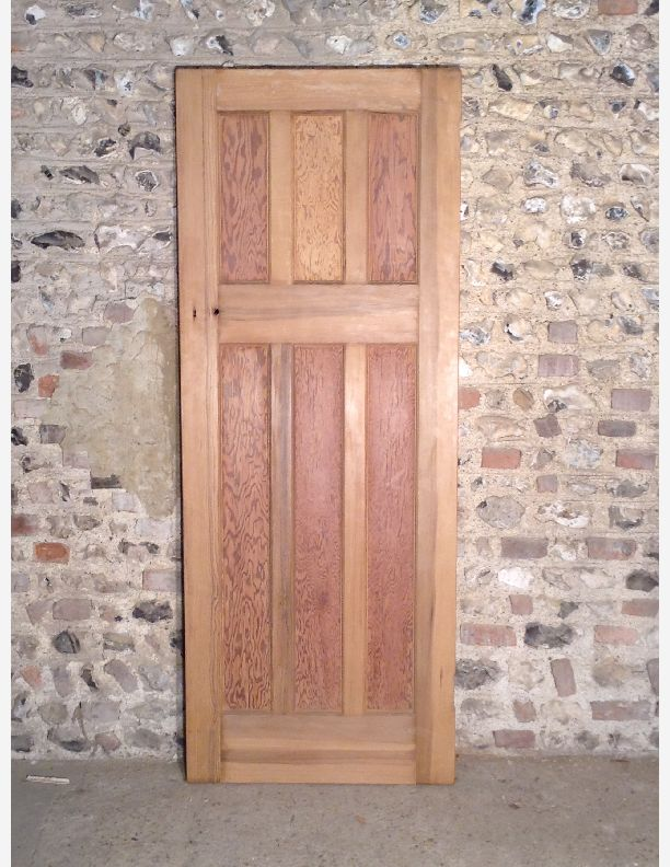 P508 a waxed and finished 1920s 6 panel internal door by for 1920s door design