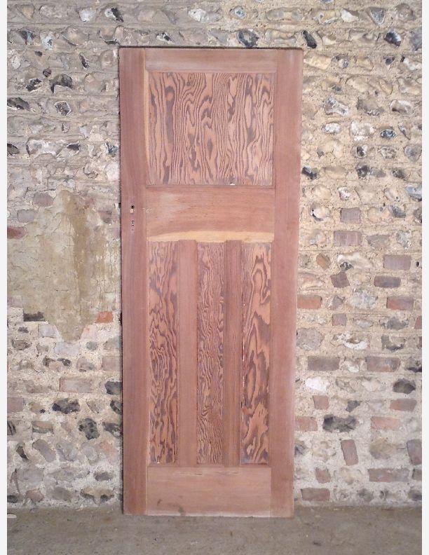 Q520 1930s 1 over 3 panel internal door by historic doors for 1 over 3 panel door