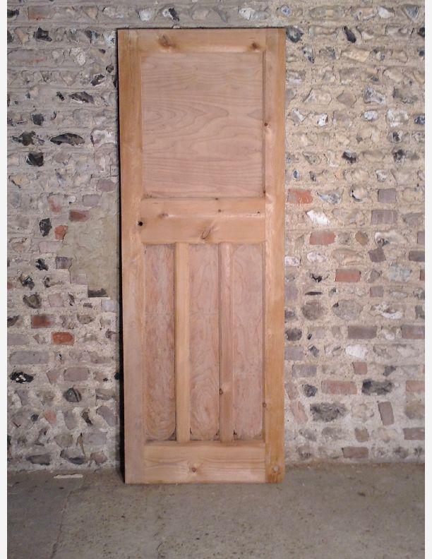 Q524 1930s 1 over 3 panel internal door by historic doors for 1 over 3 panel door
