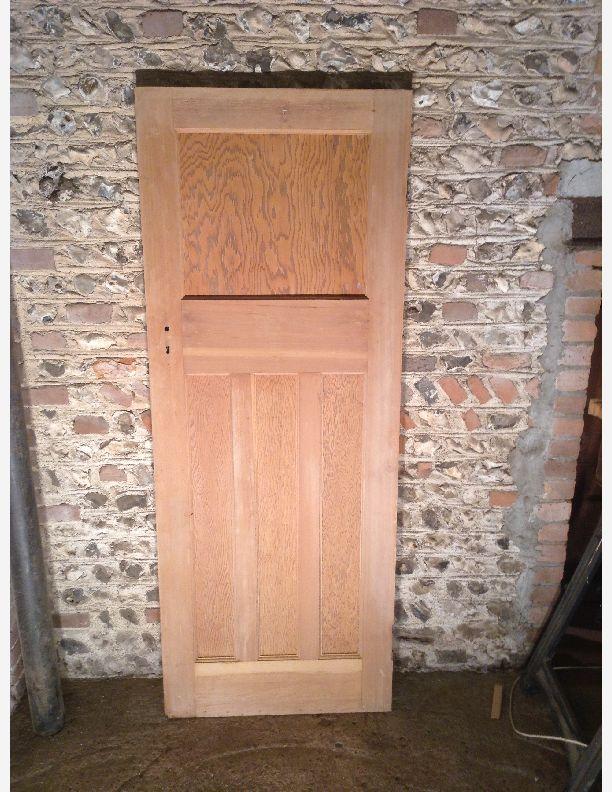 Q726 77 1 4 x 30 x 1 5 8 1 over 3 panel 1930s door by for 1 over 3 panel door