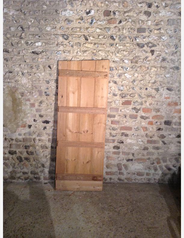 746 - Ledge and brace farmhouse door