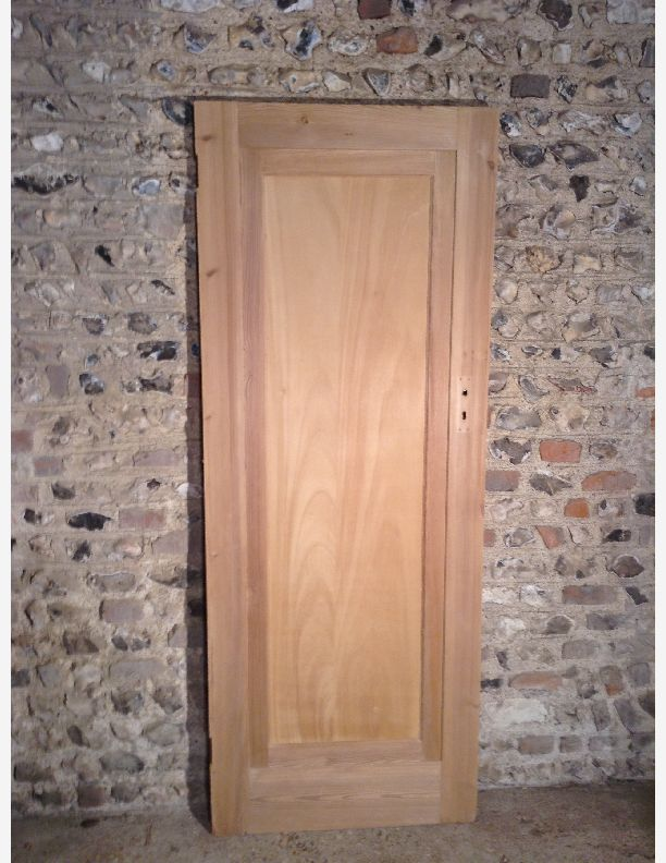 776 - single panel Edwardian door