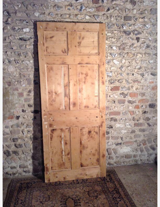 953 - Georgian 6 panel reclaimed door