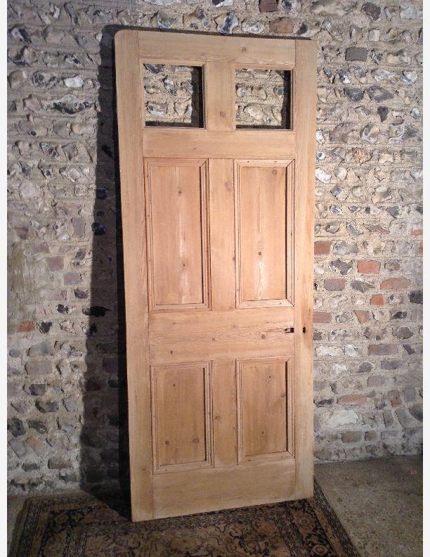 961 - 6 panel pine door