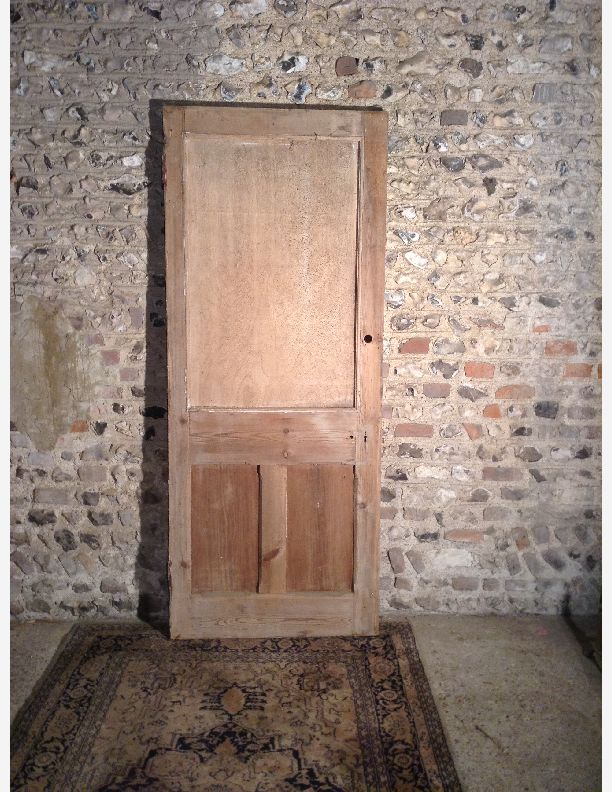 988 - Victorian style parlour door 1 over 2 panels