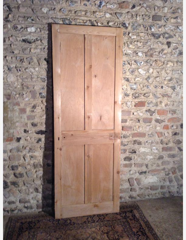 1004 - 4 panel shaker stripped pine  door