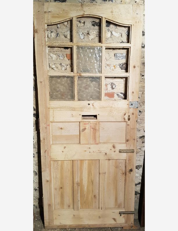 1106 - 9 panel Georgian or Edwardian Front door