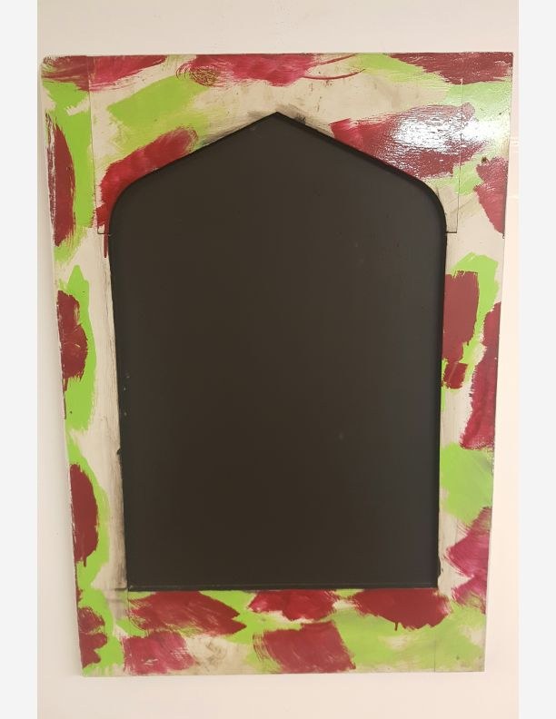 1116 - Arched jazzy black boards