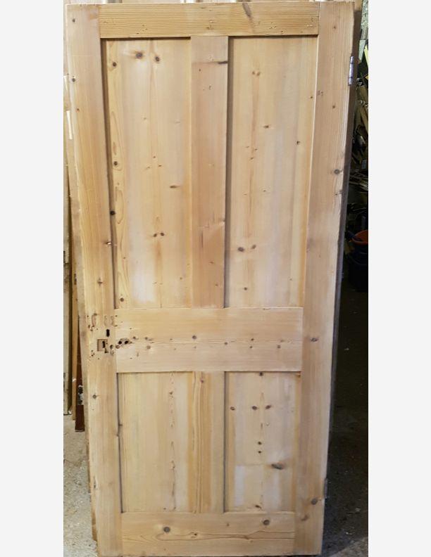 Shaker style reclaimed victorian 4 panel door 33 x 75 for Victorian door styles