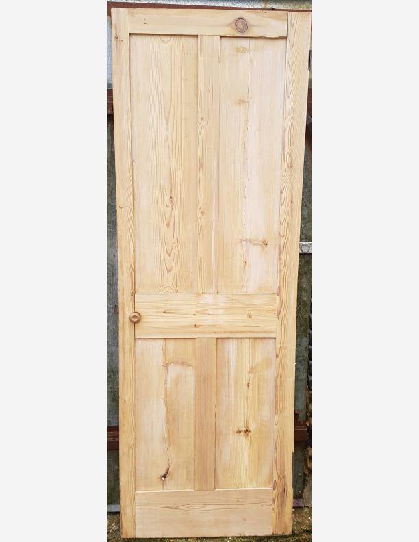 Shaker Style Reclaimed Victorian 4 Panel Door 26 X 76