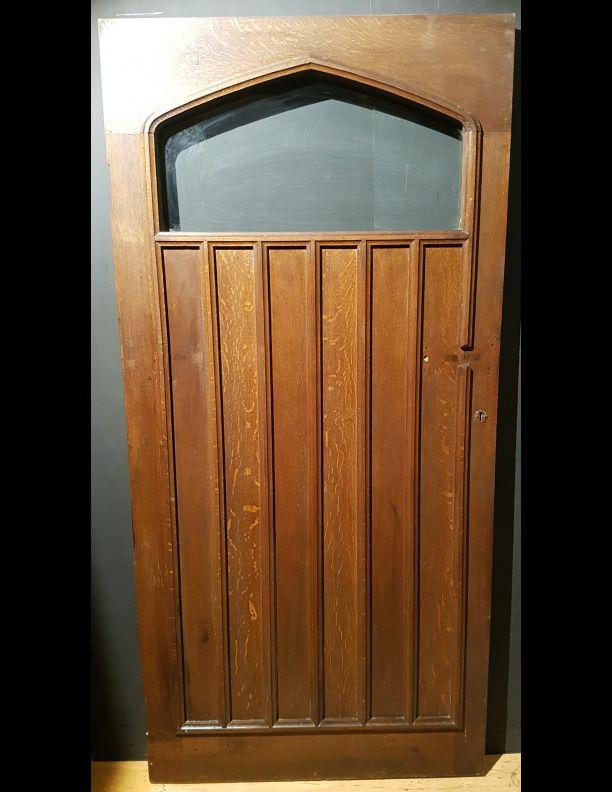 Oak Unusual Gothic Inspired Internal Or External Door