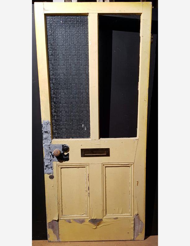 1264 - 1/2 glazed Victorian front door