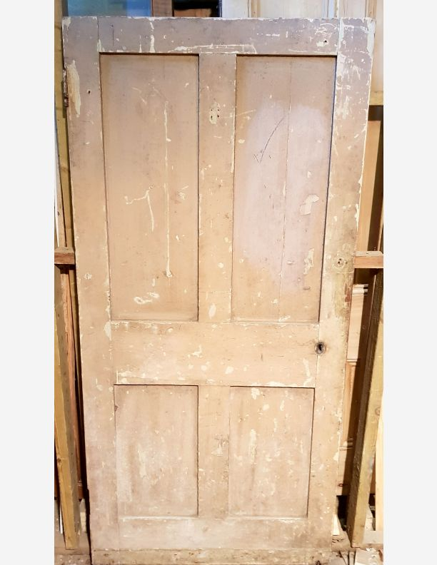 2031 - Shabby Chic Large 4 panel Victorian Shaker Door