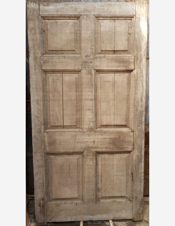 2134 - Individual or pair of Georgian 6 panel court yard gates