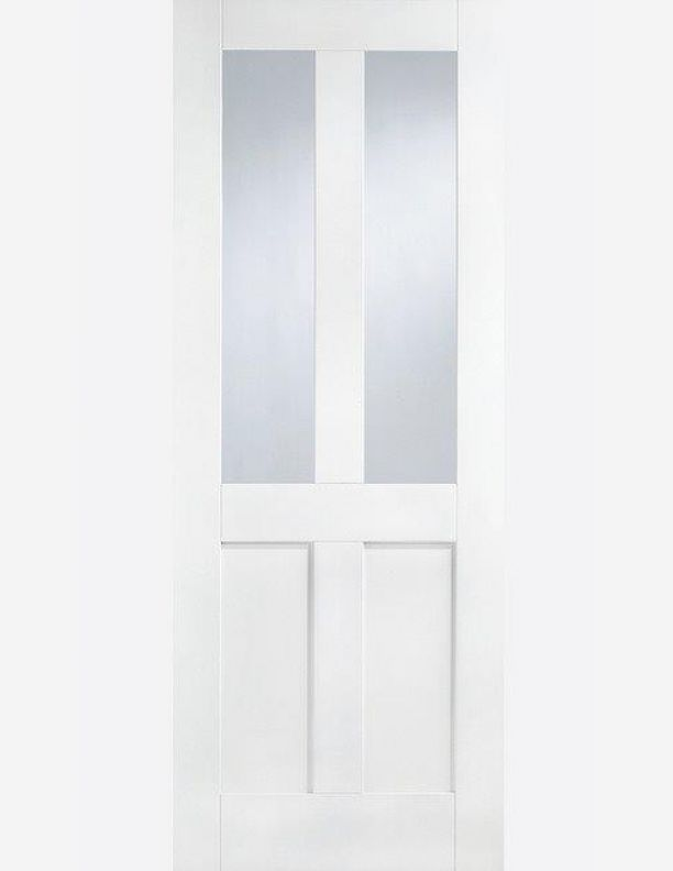 2267 - London shaker style half glazed doors
