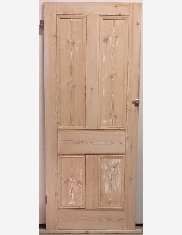 2335 - Large cupboard Victorian 4 panel pine door