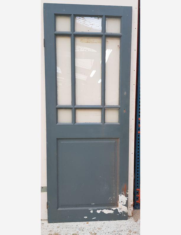2767 - 9 glass panel new vintage