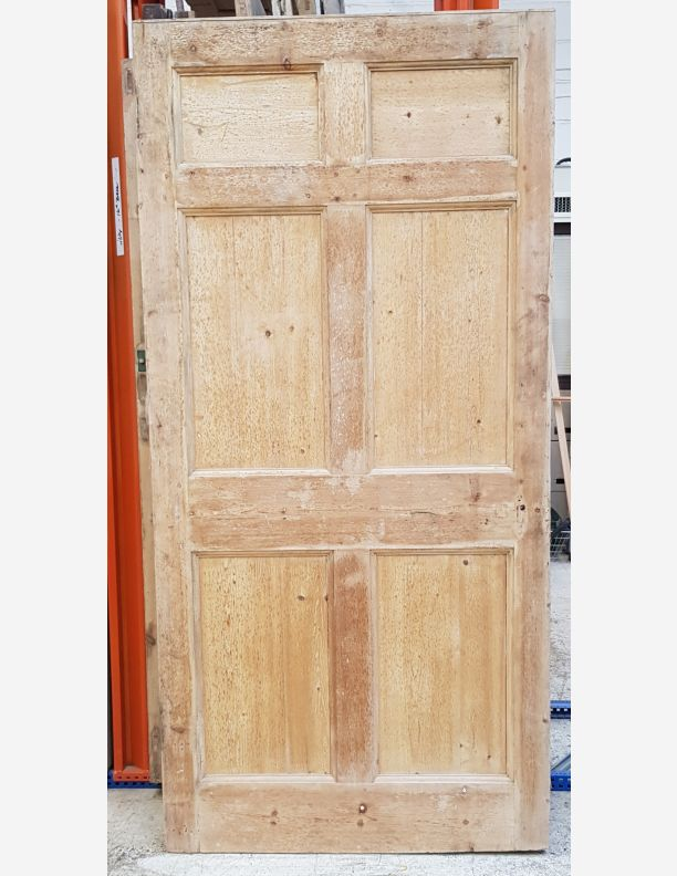 2778 - 6 panel Georgian pine door
