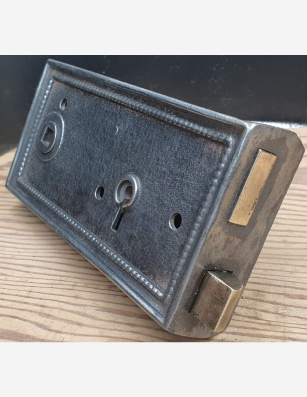 2811 - Regency style cast iron rim latch