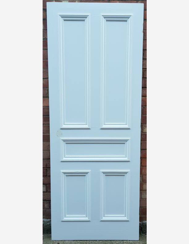 2806 - Two over one, over two panel Edwardian style, 5 panel door