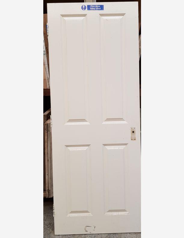 2885 - 4 raised panel fire door