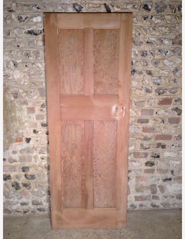 263 - Reclaimed 4 Panel Victorian Internal Door