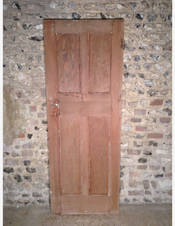 269 - Reclaimed 1920u0027s Upside Down 4 Panel Internal Door 269 - Reclaimed 1920u0027s Upside Down 4 Panel Internal Door & A269 Reclaimed 1920s Upside Down 4 Panel Internal Door by Historic Doors