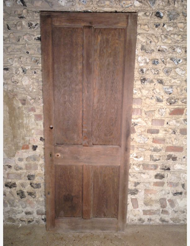Reclaimed 1920\u0027s 4 Panel Internal Door & 1920s Internal Doors Pezcame.Com