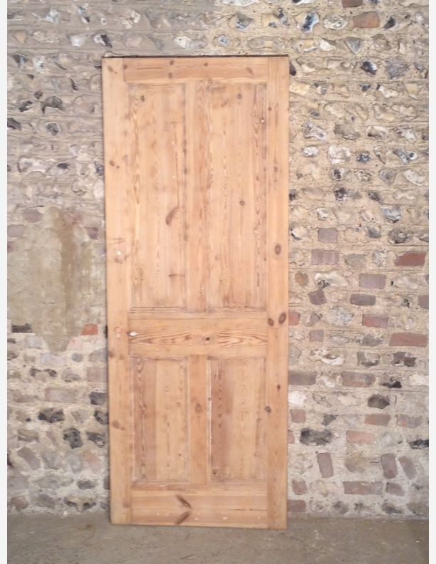 n409 victorian 4 panel interior door by historic doors