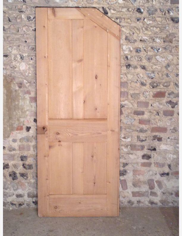 446 - Victorian 4 panel under stairs door