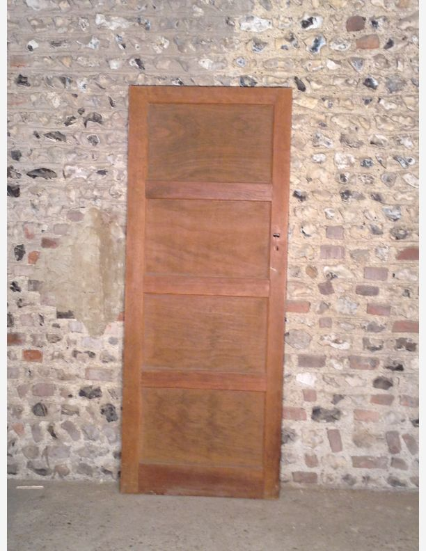 p490 a 4 panel period 1950s internal door by historic doors