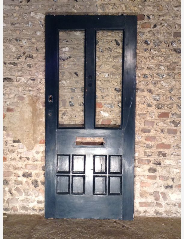 495 - An Original Victorian/Edwardian Glazed front door