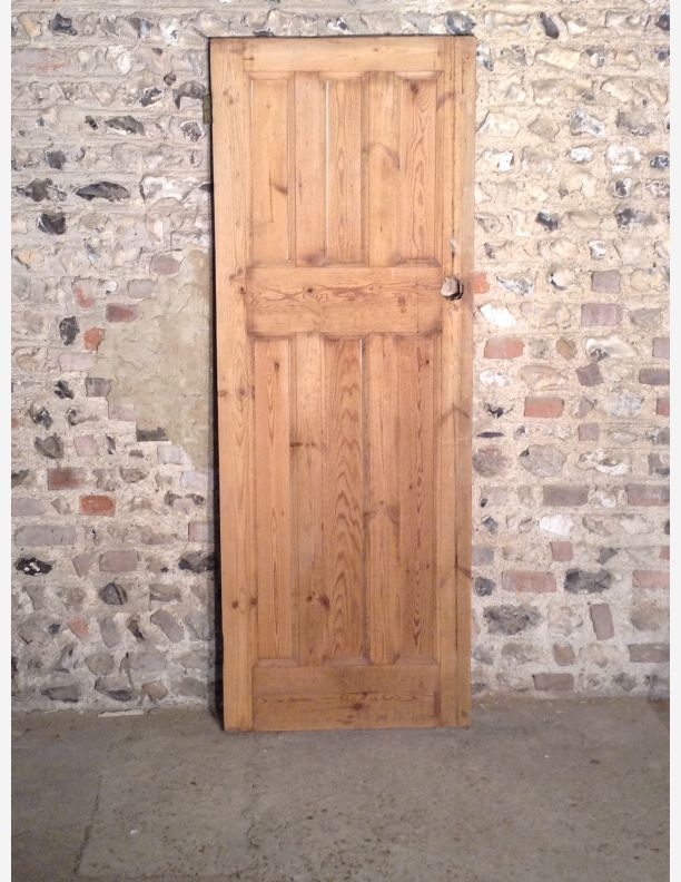 531 - Reclaimed 1920\'s 6 Panel 3 over 3 Internal Door