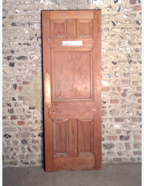 583 - Edwardian 5 Panel Internal Door
