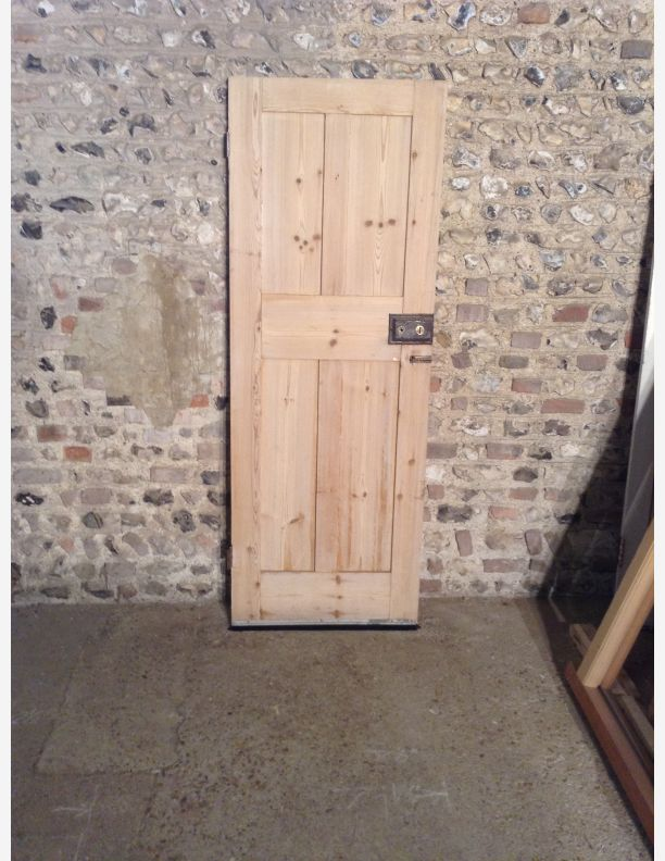 T629 Victorian 4 Panel Shaker Style Upside Down Door By
